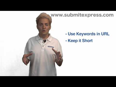 URL SEO Tips By Submit Express