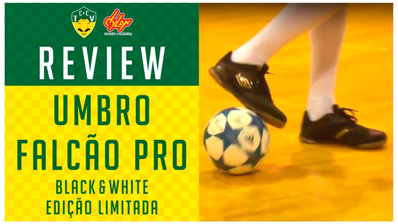 CHUTEIRA UMBRO FALCÃO PRO - TESTE E REVIEW - YouTube 9e0da8cafb43a