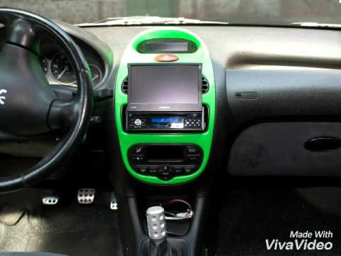 monster projects peugeot 206 - youtube