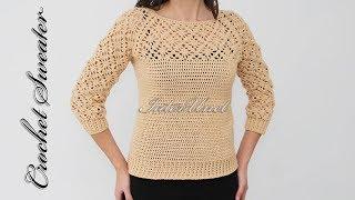 sweater a crochet