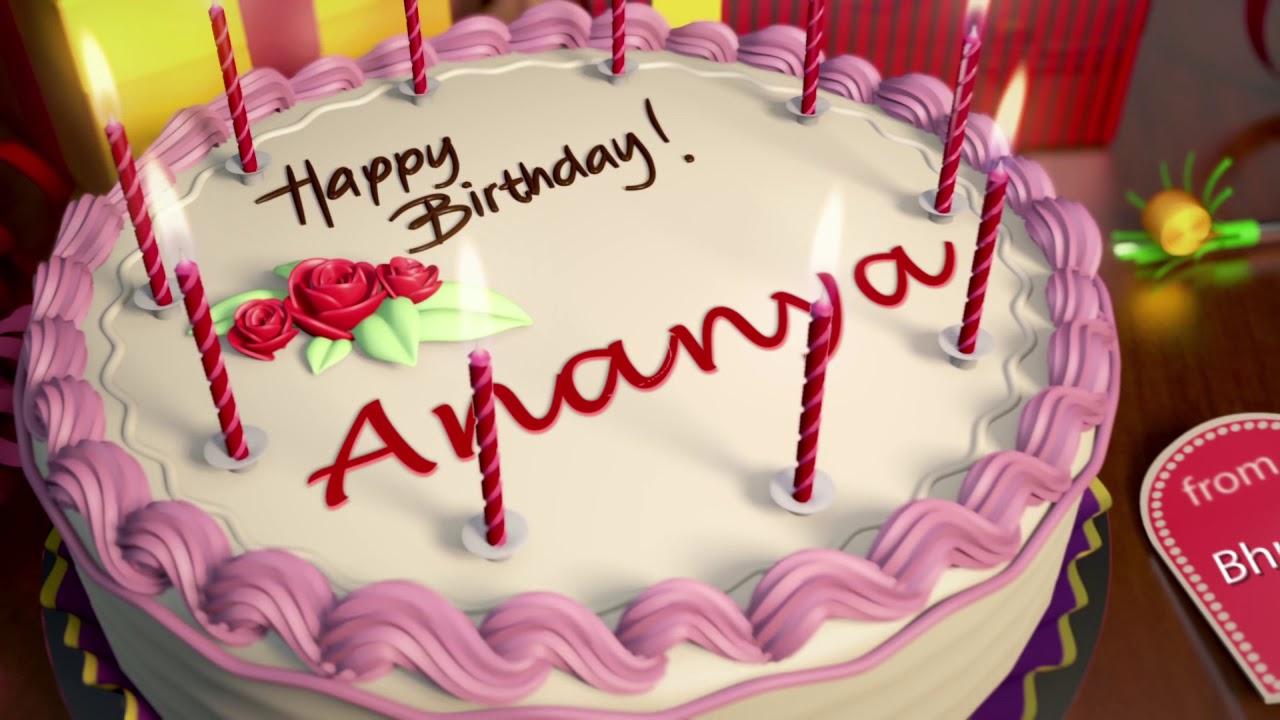 Happy Birthday Ananya Youtube