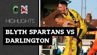 Blyth Spartans 0-1 Darlington - Vanarama National League North - 2018/19