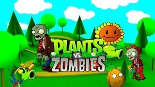 Игра РАСТЕНИЯ ПРОТИВ ЗОМБИ   Plants versus Zombies  Развлечение для детей