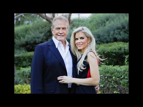 actor Lee Majors with his wife Actress Faith Majors