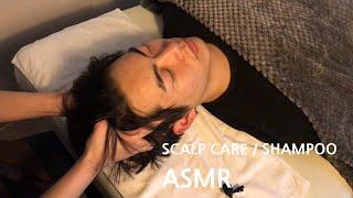 ASMR 두피센터의 두피 각질제거와 샴푸 체험하기│sc…