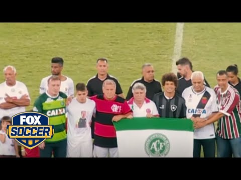 Brazilian legend Zico organized charity match for Chapecoense | @TheBuzzer | FOX SOCCER