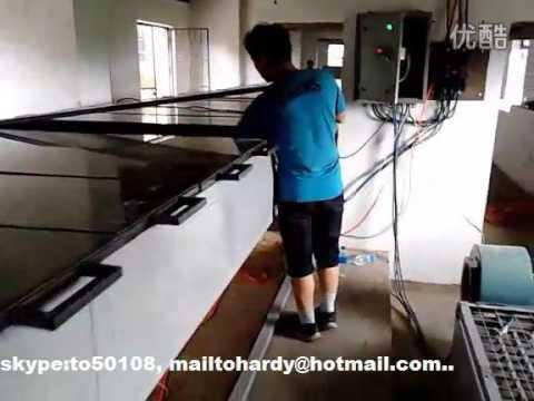 FRP fiberglass reinforced plastic roofing sheet machine