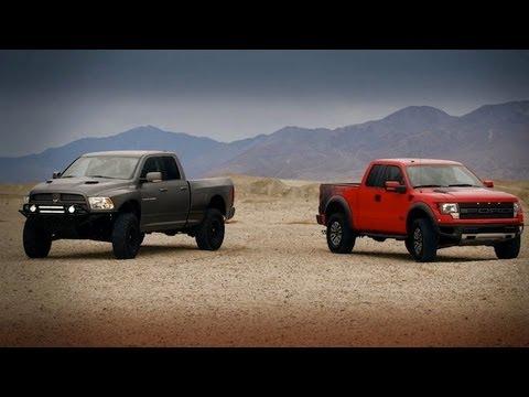 Dodge Ram Runner >> Raptor vs. Ram Runner: Head to Head - YouTube