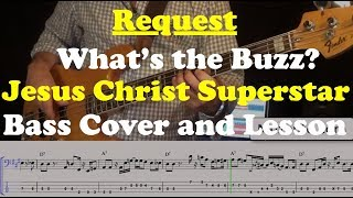 Whats the Buzz - Bass Cover and Lesson - Request