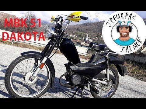 Test - Essais MBK 51 Dakota - CDI 7000 trs