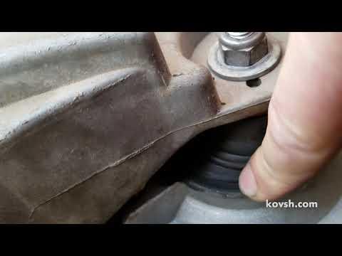 Учтите это при замене подушек двигателя.  Renault Kangoo 1.5d, K9K710