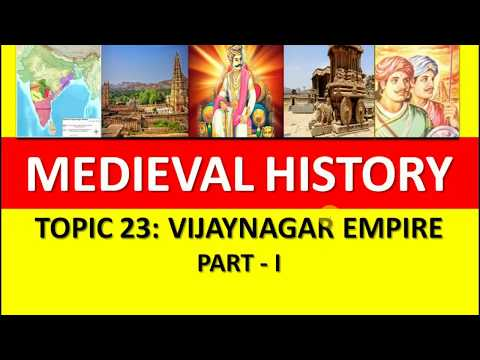 Vijayanagar Empire - Hampi | Medieval Indian History | NCERT Video | medieval history | UPSC | PCS |