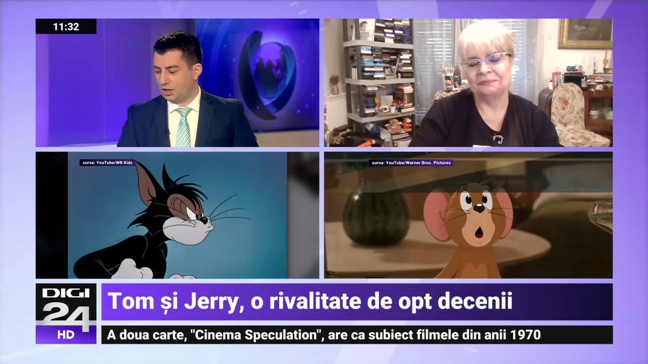 Tom și Jerry revin pe marile ecrane. Irina Margareta Nistor:Ne-au însoțit mereu în perioade dificile