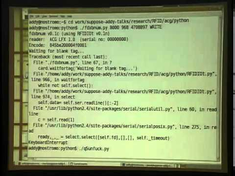 Shmoocon 2007 - RFIDiots - Major Malfunction.mp4
