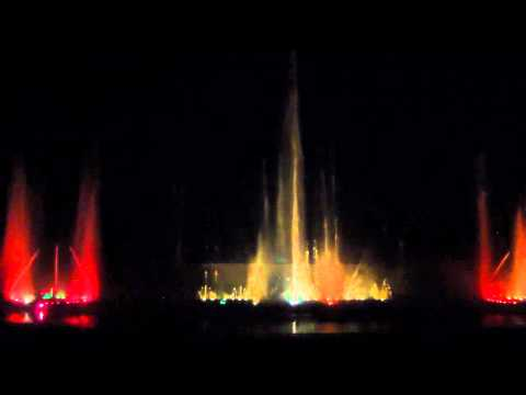 Gujarat Science City - Dancing Musical Fountain (Vande Mataram)