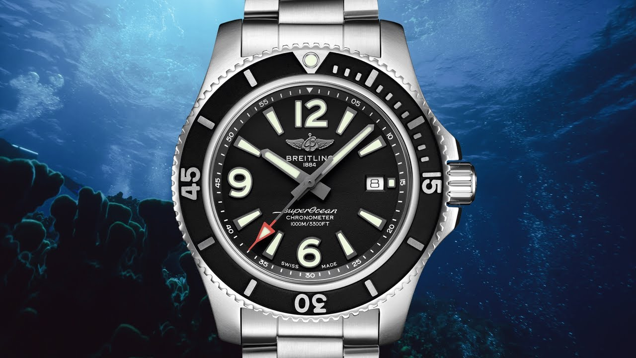 Review: NEW Breitling Superocean Automatic 44 - YouTube