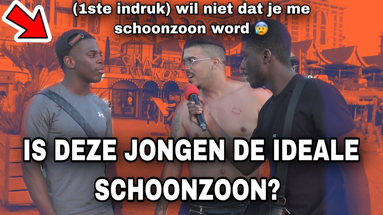 IS DEZE JONGEN DE IDEALE SCHOONZOON? - SCHEVENINGEN