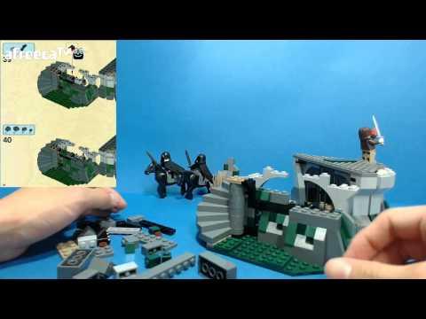 레고 폭풍산의 공격] 7편 - 3번팩 언덕 기반 조립편2 LEGO 9472 (LEGO 9472 Attack On Weathertop)