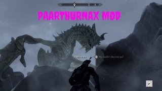Skyrim Special Edition Gameplay - PAARTHURNAX MOD