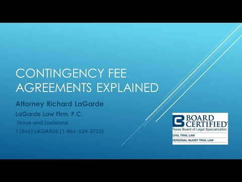 Contingency Fees Explained