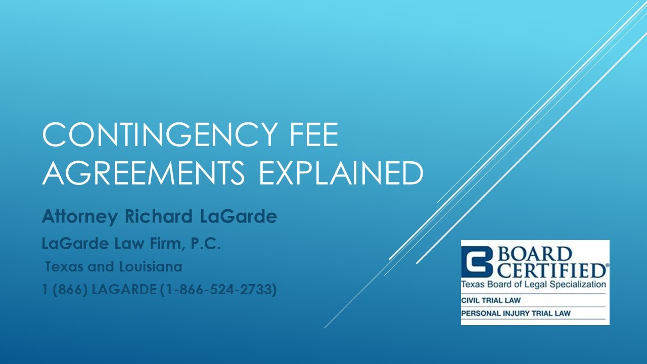 Contingency Fee Business Litigation Lawyers | LaGarde Law