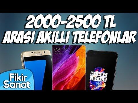 2000 - 2500 TL Arası Akıllı Telefon Önerileri (2017)
