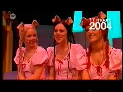 K3 backstage bij De 3 Biggetjes Rode Loper 2003