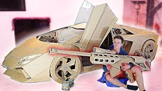 10 AMAZING CARDBOARD PRODUCTS LAMBORGINI, BASKETBALL AND OTHER