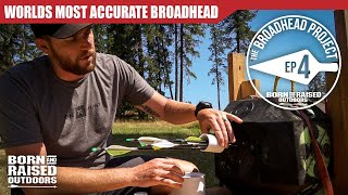 The World's most ACCURATE BROADHEAD