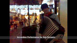 香港手風琴 Edith Piaf - Sous Le Ciel De Paris - Accordion, Andrew Birkun, Hong Kong