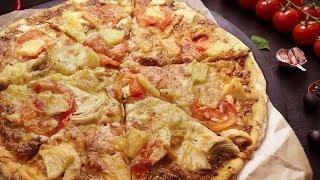 Самое простое тесто  пиццы: минимум мороки, максимум вкуса!