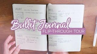 Bullet journal flip through - My basic setup for managing tasks & goals