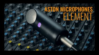 Aston Microphones Element on acoustic and electric guitar, percussion & backing vocals | Guitar.com