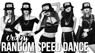 4minute crazy random speed dance challenge