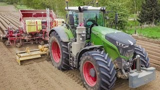 FENDT 1050 Traktor | Kartoffeln pflanzen | Grimme GL860 | Potatoes planting