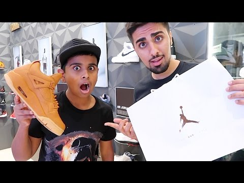Dubai's Richest Kid Spends $100,000 on Shoes !!!