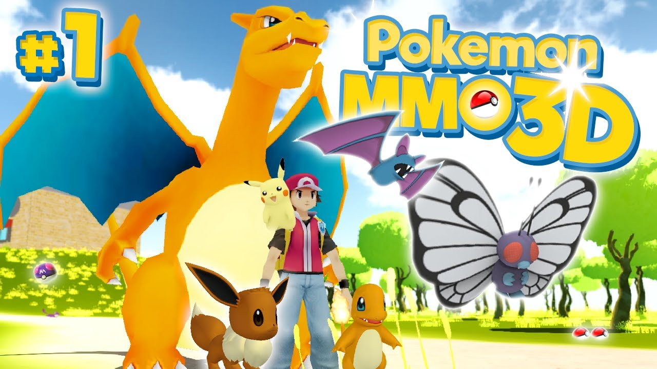 A new 3d pokemon world pok mon mmo 3d 1 youtube - Pokemon 3d download ...