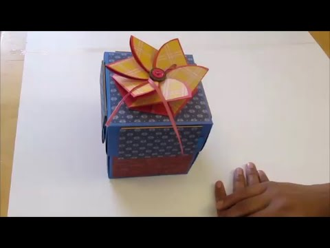 Diy art and craft explosion box explosionbox youtube for Youtube art and craft