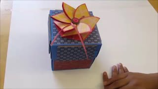 #DIY Art and #craft : Explosion Box / #explosionbox
