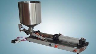 Pneumatic Filling Machine Semi Automatic Lotion Cream Foamy Liquid Filler пневматические розлива