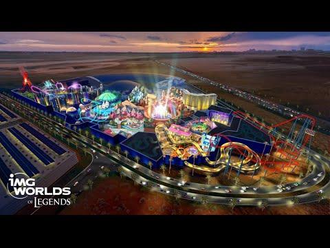 World's Largest Indoor Theme Park, IMG Worlds- Dubai  (PART 1)