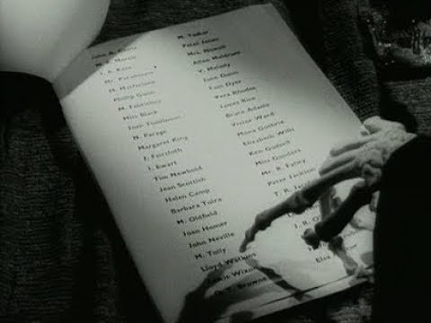 """Something strange about the """"list of names"""" #HouseOfCards"""