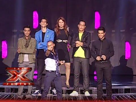 الأغنية الجماعية  - حلقة النتائج - تعا خبيك - العروض المباشرة الأسبوع 9 - The X Factor 2013