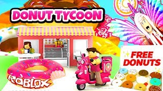 ROBLOX 🌀 New 🌀 SUGAR FACTORY DONUT TYCOON GAME is over WE HAVE LEFT Turkish 🌀 Simulator 🌀 2018