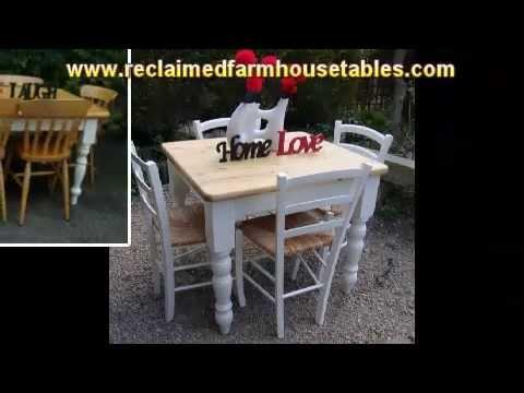 Reclaimed Farmhouse Tables