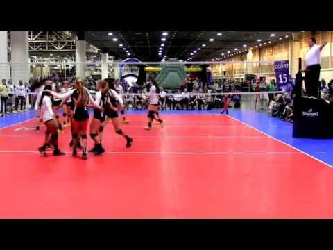 Junior Nationals - Vision Gold 15-1 vs. Skyline 15 Royal (Set 1)