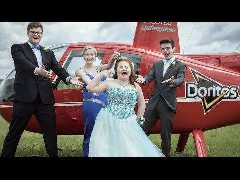 Doritos-Loving Teen With Down Syndrome Gets Helicopter Ride to Prom