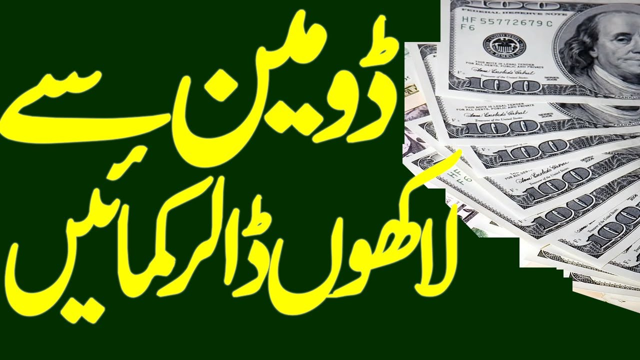 Make Money From Domains || Earn Money Online In Pakistan || Business Ideas