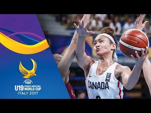 Canada v Latvia - Live - FIBA U19 Women's Basketball World Cup 2017