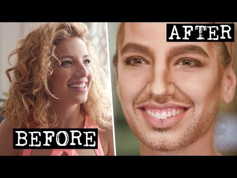 My First Drag King Transformation  S Word w Vanessa Lengies